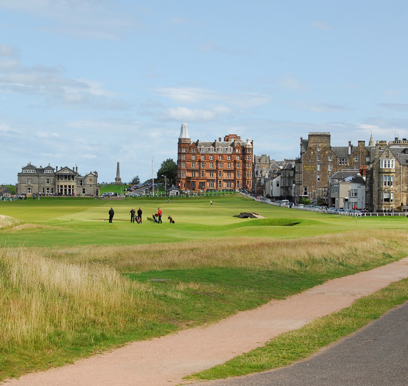 golf tours to scotland, st andrews