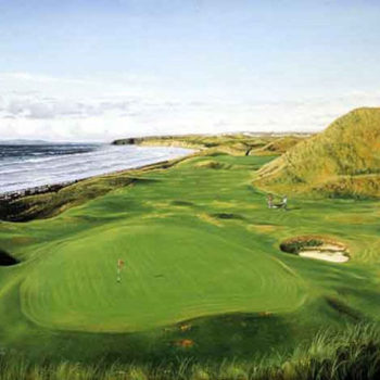 Ballybunion Ireland painting by Graeme Baxter