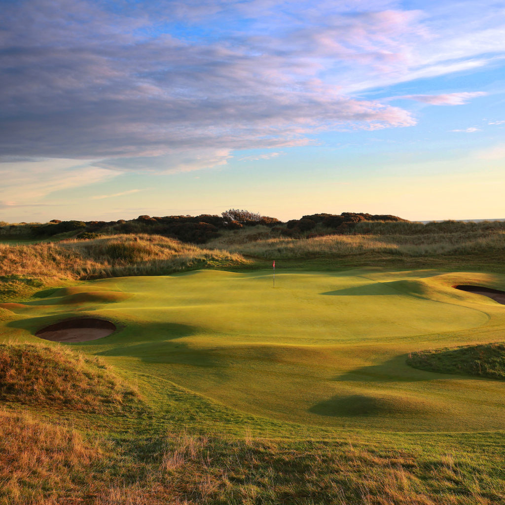 Portmarnock 15th hole at Portmarnock Golf Club