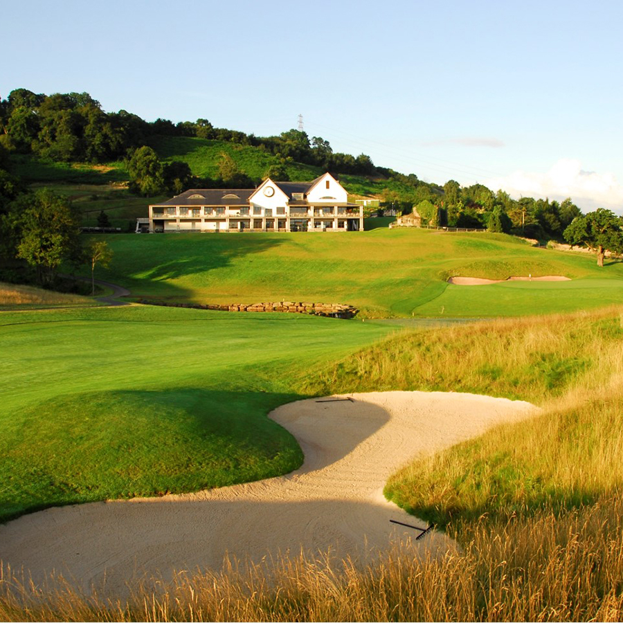 Celtic Manor Golf course, Wales