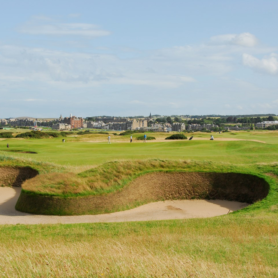 Hell bunker, St. Andrews, Golf tour
